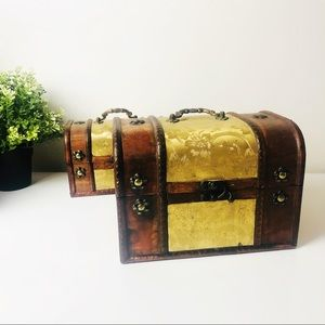 Gorgeous Vintage Chest Boxes Jewellery Boxes